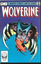 Wolverine #2  Marvel Comics 1st print 1st Series Frank Miller HIGH GRADE - $73.26