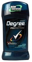 Degree Men Anti-Perspirant & Deodorant, Cool Comfort 2.7 Ounce Pack of 3 - $17.68