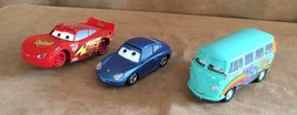 Cars Disney Pixar lot large plastic Lightning McQueen Sally Filmore 3 - $18.50