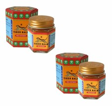 2 xTIGER BALM Red Ointment Ayurvedic proprietary medicine for Aches and ... - $11.43