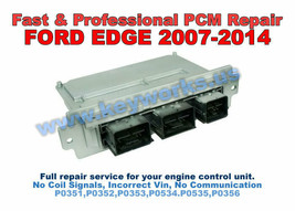 2007-2014 Ford Edge Fast Engine Computer Misfire Repair Service. Ecu Pcm Ecm - $133.65
