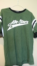 Ale Stars Tee Shirt Green St Paddy's Day L - $7.91