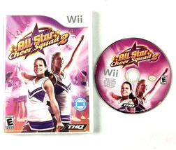 All Star Cheer Squad 2 Nintendo Wii 2009 Complete Tested & Working Cheer... - $9.85