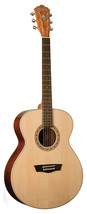 Washburn WG7S Grand Auditorium Natural Gloss Acoustic Guitar - $197.01