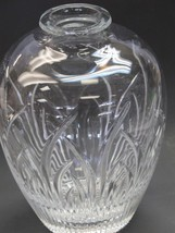 Lenox hand cut glass and blown glass Saratoga vase Made in Mt Pleasant PA - $31.44