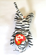 "Ty Beanie Babies Blizz White Tiger 6 1/2"" Plush - $2.99"