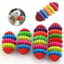 Colorful Rubber Pet Dog Puppy Dental Teething Healthy Teeth Gums Chew To... - $7.05