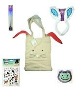 Kids Easter Basket Filler Bunny Ears Light Up Baton Tote Bag Nella Egg S... - $19.79