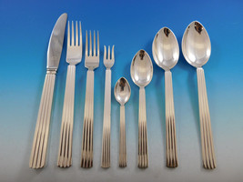 Bernadotte by Georg Jensen Sterling Silver Flatware Set Service 94 pcs D... - $16,995.00