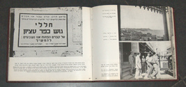 Vintage 1951 Book Israel Reborn Illustrated Hebrew English French image 6