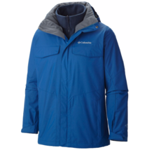 Columbia Mens sz L Bugaboo Interchange Jacket 3 In 1 Removable Liner Coa... - $134.60