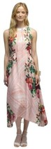 $198 Anthropologie Jardin de Rosas Midi Dress 6 Medium Floral Beaded Col... - $143.65