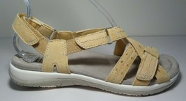 Earth Origins Size 8 M SAVOY SAMMIE Yellow Leather Sandals New Women's S... - $98.01