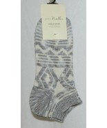 Simply Noelle Ankle Socks Grays Light Blues Cream Colors One Size Fits Most - $7.59