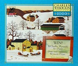 "Charles Wysocki's Americana ""Pass the Fox Creek Inn"" 1000 Piece Puzzle - $32.65"