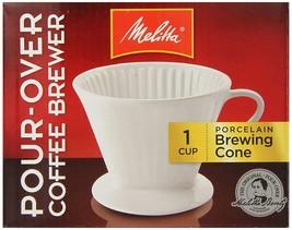 Melitta 64101 Porcelain #2 Cone Brewer - $16.16