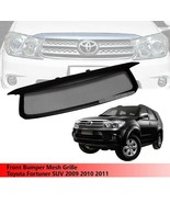 Front Bumper Mesh Grille Grill Toyota Fortuner SUV 2009 2010 2011 - $134.02