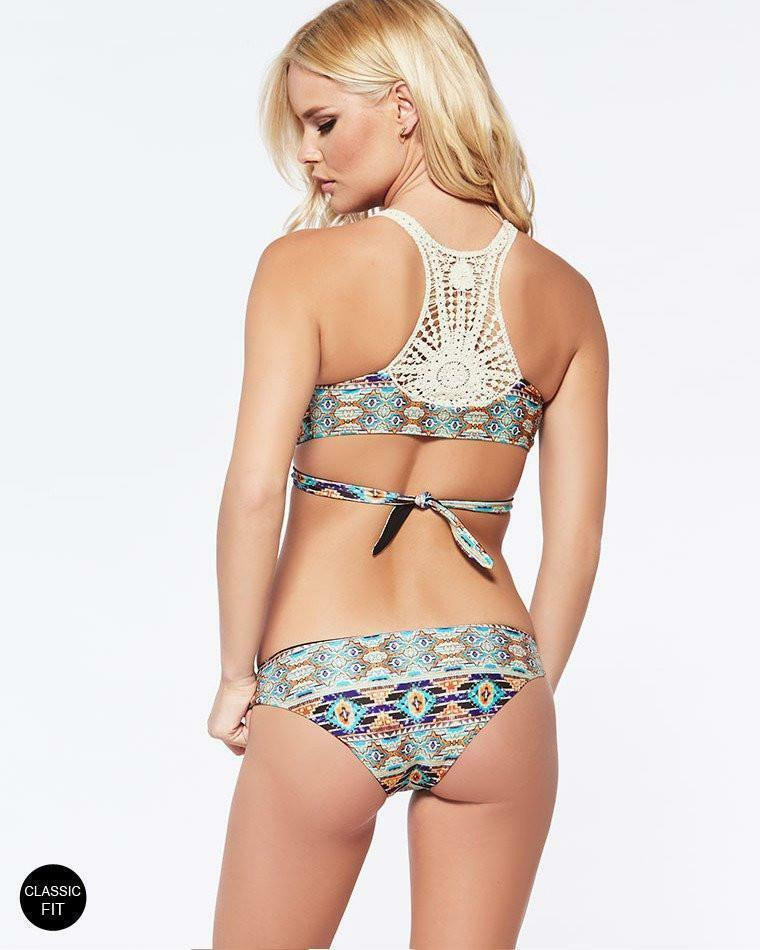 Primary image for L*SPACE SWIM ZANZIBAR REVERSIBLE ESTELLA CLASSIC FIT BIKINI BOTTOM  (XS) NWT $79