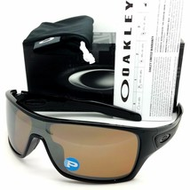 Oakley Turbine Rotor Sunglasses OO9307-06 Black Tungsten Iridium Polarized - $98.99