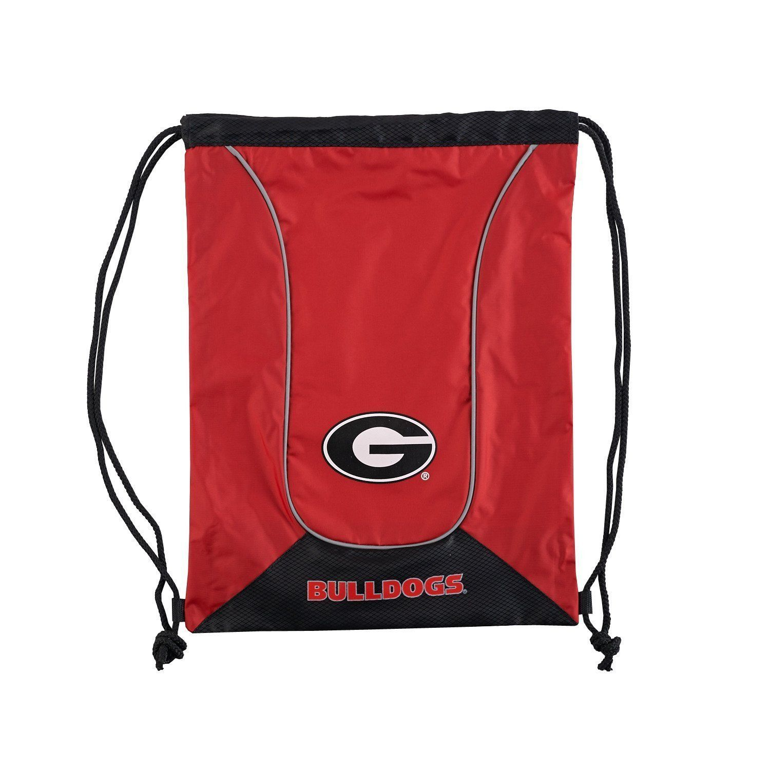 GEORGIA BULLDOGS DOUBLEHEADER BACK SACK PACK SCHOOL GYM BAG NCAA