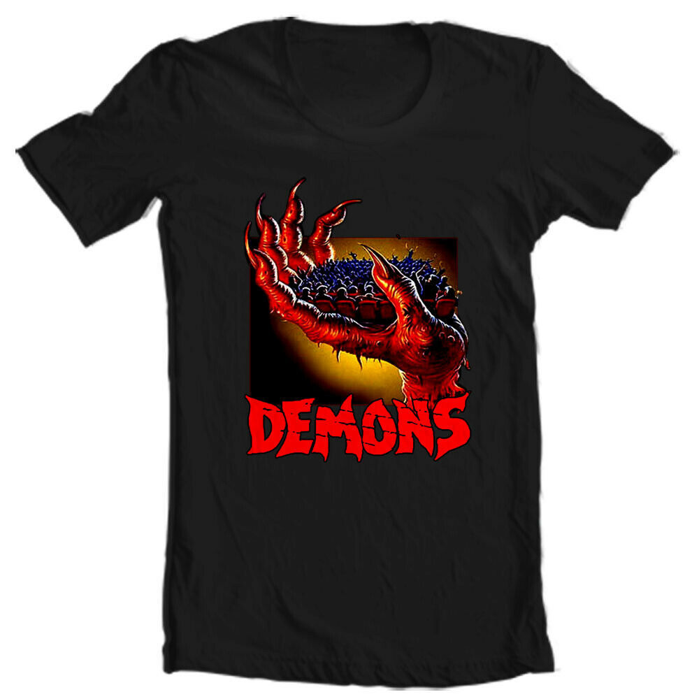 Demons movie T shirt Demoni Italian vintage classic horror movie graphic tee