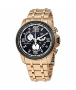 CITIZEN ECO-DRIVE BY0108-50E CHRONO-TIME ROSE GOLD STAINLESS STEEL MEN'S... - $349.46
