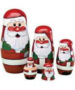 Santa Nesting Dolls - $17.74