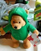 "Disney Store Winnie the Pooh 8"" Plush Bean Bag Dress Up Turtle - $12.19"