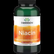 Natural Swanson Organic Niacin 500 mg 250 Capsules Vegan Vegetarian - $31.26