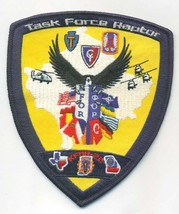 Us Army Task Force RAPTOR- With Velco Patch - $11.87