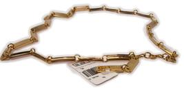 "Vintage NWT Calvin Klein (cK) gold tone all metal belt 39"" - $19.75"
