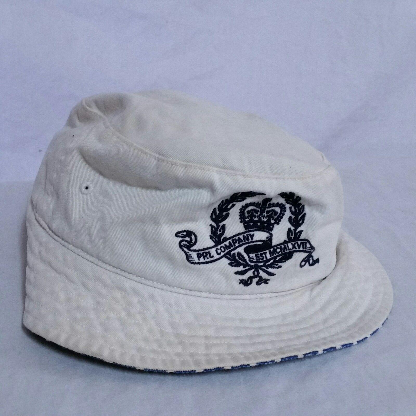 77dbac1e8545c VTG Polo Ralph Lauren Bucket Hat Crest Crown Spell Out 90s Sport Bear  Fisherman