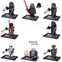 8 PCS/Set STAR WARS The Force Awaken Minifigure Bricks Building Blocks T... - $14.45