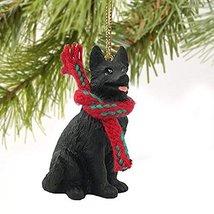 Conversation Concepts German Shepherd Black Original Ornament - $14.69