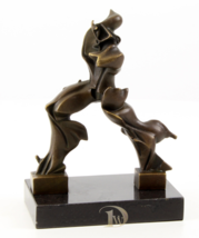 Unique Forms of Continuity in Space Bronze Sculpture signed * Free Air Shipping - $199.00