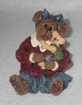Boyd Bearstone Resin Bears Momma McBruin & Luke Baby Love Figurine #2283... - $8.56