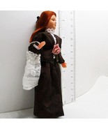 Dressed Lady Doll 1259 Caco Brown 2-pc Dress Flexible Dollhouse Miniature - $39.14