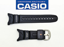 CASIO original  SEA PATHFINDER WATCH BAND STRAP RESIN Dark Blue SPF-40S ... - $30.55