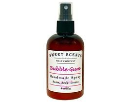 Bubble Gum Body Spray - Handmade Spray / Body Spray / Room Spray / Body Mist / F - $8.49