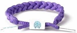 RASTACLAT Gusher Purple Girls MiniClat Braided Shoelace Bracelet RCW001GSHR NEW image 2