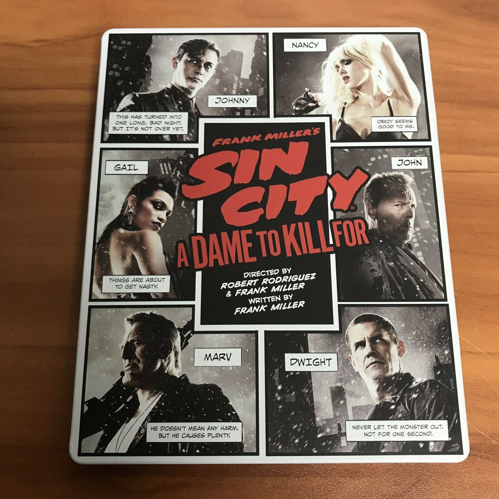Sin City 2 - A Dame To Kill For Best Buy Steelbook (3D + Blu-ray + DVD)