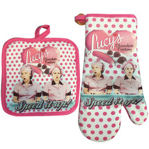 I Love Lucy Chocolate Factory Oven Mitt And Pot... - $10.98