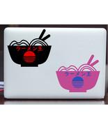 King of Ramen Japanese Vaporwave Vinyl Decal Sticker for Laptop, Car, Tablet