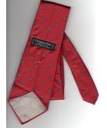 """Christian Dior Red Necktie Silk 56"""" L 3.5"""" W - $12.00"""