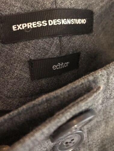 Express Editor Women's Gray Dress Pants Sz 0