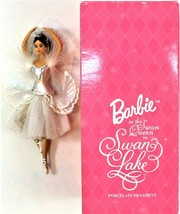 Barbie as the Swan Queen In Swan Lake Porcelain Ornament 1998 Avon image 1