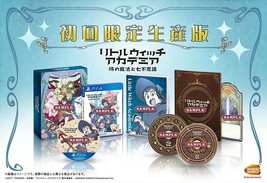 PSL Video game Little Witch Academia First Press Limited Edition PS4 Fro... - $115.55