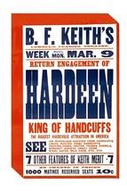Return engagement of Hardeen - Art Print - $19.99+