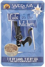 Weruva Cats in the Kitchen Pouch Pet Food, 3 oz, Pack of 8 - $37.65