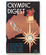 1956 Melbourne Olympic Games Australia 3 shillings digest + guide + 2 programmes - $21.18